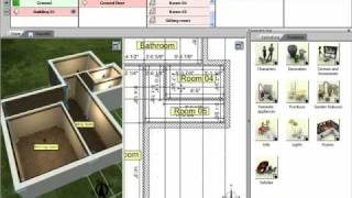 3D Home Design By Livecad Tutorials 02 Creating Rooms   YouTube Part 14