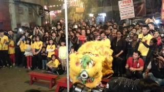 Lion Dance Chinese New Year 2014 India, Kolkata
