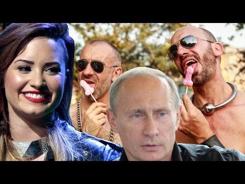 Demi Lovato's Gay Putin Image Angers Russians