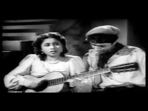 Tadbeer Se Bigdi Hui Taqdeer Bana Le-Geeta Dutt-Baazi-Baba Murli Song