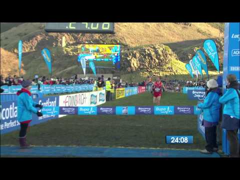 Bupa Great Edinburgh XCountry 2014 featuring Kenenisa Bekele, Asbel Kiprop