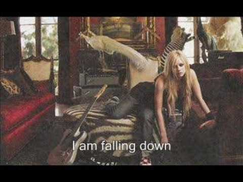 Falling down- Avril lavigne (with lyrics)