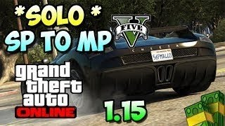 GTA 5 Online: Solo Bring Any Car Online Glitch! After