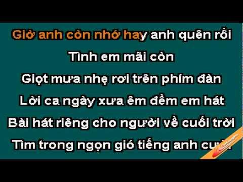 Nuoi Tiec Karaoke - Ho Quynh Huong - CaoCuongPro