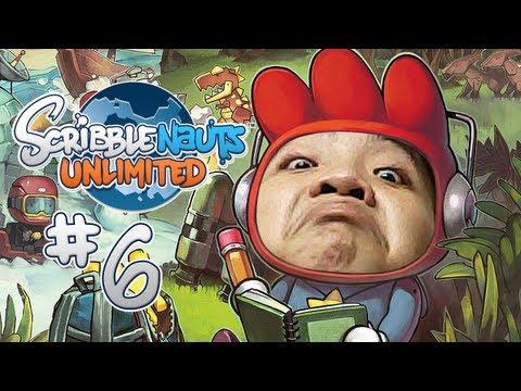 NHÀ NGOẠI CẢM MŨ ĐEN RA TAY!!! - ScribbleNauts: Unlimited #6