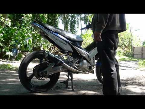 Soundtest Leovince GP Corsa carbon fiber exhaust - LC135 Sniper Jupiter MX Spark 135LC Crypton X 1R
