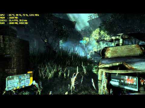 Crysis 3 Safeties Off Mission Very High Settings + FXAA on Gigabyte GTX 770