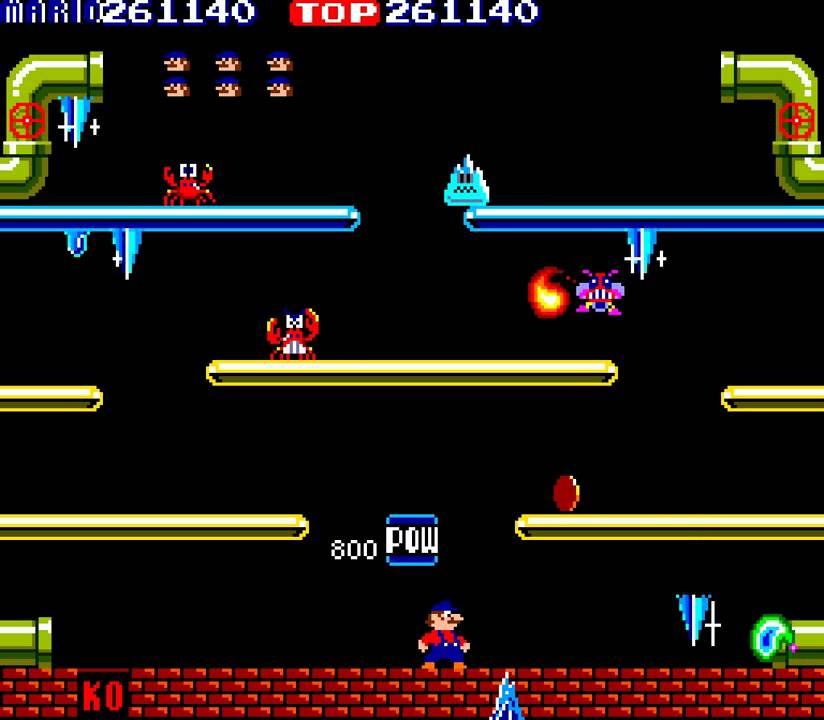 mario bros original arcade game