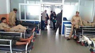 الحصاد اليومي : مواجهات عنيفة ترسل 30 عنصرا من القوات المساعدة إلى المستشفى بسطات | حصاد اليوم