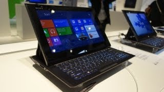 First Look: Sony VAIO Duo 11 Slider Tablet