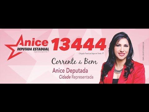 Vote Anice 13 444   - Campanha Eleitoral 2014  - Caminhada Vila A e Vila Portes