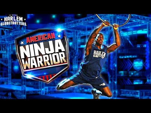 Кога ќе предизвикаш егзибиционистички кошаркар од Харлем Глобтротерс да се натпреварува на Американски Нинџа Воин