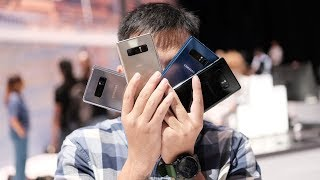 Trên tay Galaxy Note8: nam tính và cấn hơn S8, camera kép rất nhanh   Tinhte.vn