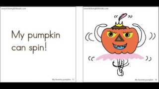 Kids Halloween Book My Favorite Pumpkin, Eglish stories for kids, DreamEnglish