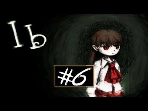 Ib - Part 6 | ENDING! | RPG Maker Horror Game | Gameplay/Commentary/Face cam reaction