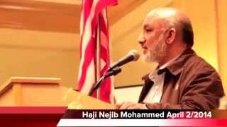 Haji Najib's speech for Ethiopian community in Las Vegas.