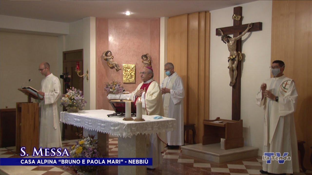"""S. Messa - Casa Alpina """"Bruno e Paola Mari"""" - Nebbiù"""