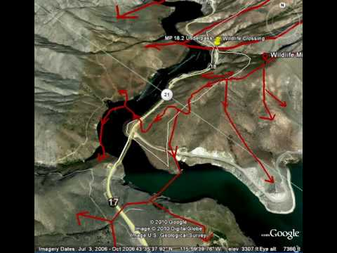 A Fly-over View Of Deer And Elk Migration Routes To And From The Boise Front. - YouTube
