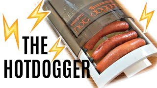 The HOTDOGGER | 1970s hot dog electrocutor | Does it Work?