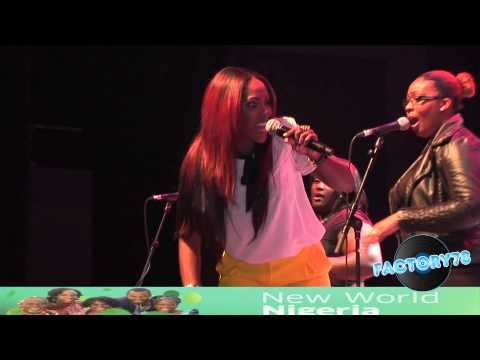 FACTORY78 - Tiwa Savage Performs Live @ New World Nigeria 2012.