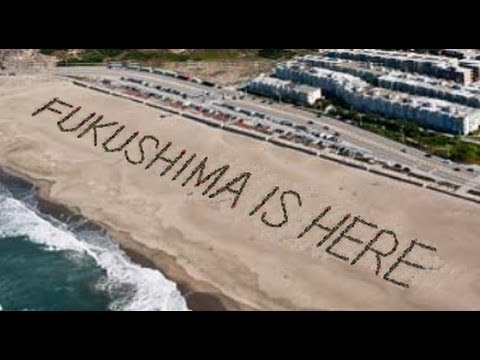 Panic as Fukushima radiation 'found' on Californian beach!