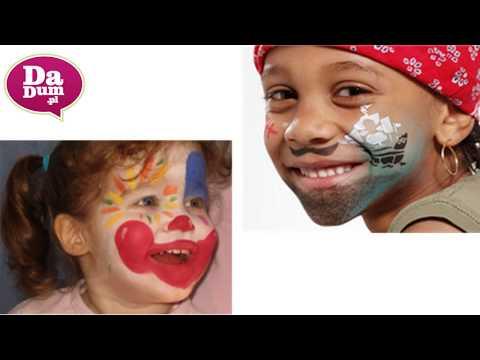 Wzory malowania twarzy dzieciom: zobacz malowane twarze dzieci