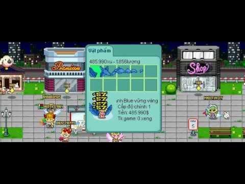 Hướng dẫn đập item cánh baby blue lên cánh blue vững vàng game avatar cùng tomato87 - Tập cuối :v