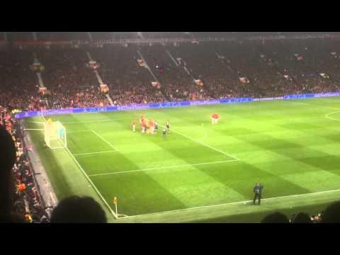 Robin Van Persie Free kick vs Olympiakos 3-0