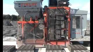 SRS Finlay Block Machines Hollow Blocks
