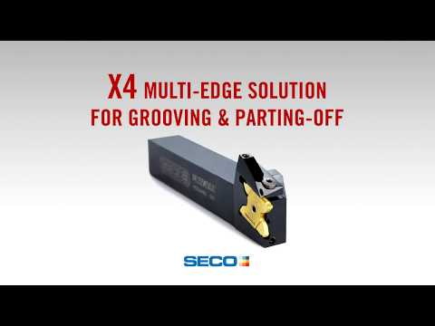 X4 - New cost efficient concept in grooving and parting-off