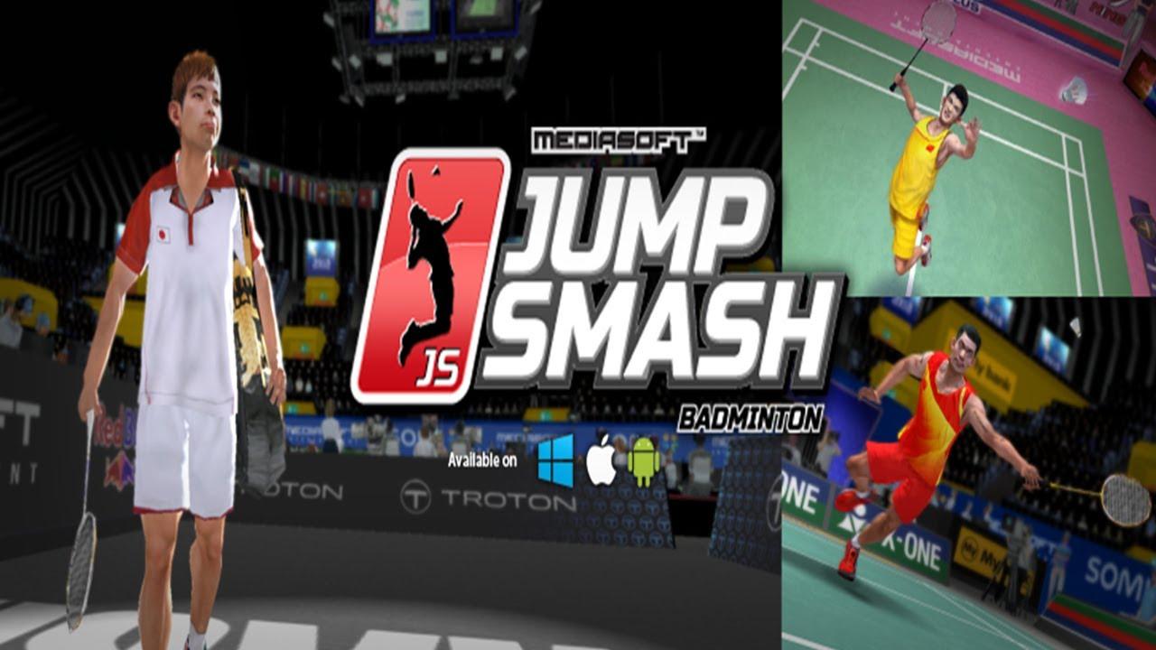 badminton jump smash universal hd gameplay trailer youtube. Black Bedroom Furniture Sets. Home Design Ideas