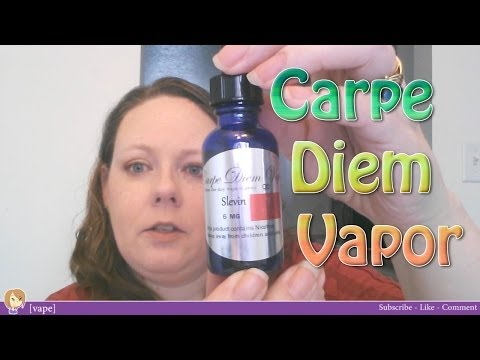 [vape] Carpe Diem Vapor ~ Slevin, NomNom, Whispering Eye, O Face ~ Review