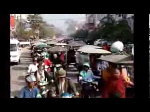 Tuk Tuk Drivers Are Protesting in Siem Reap Province
