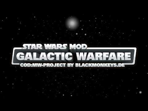 Star Wars Mod: Galactic Warfare вышел!