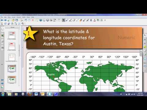 Latitude & Longitude Lesson
