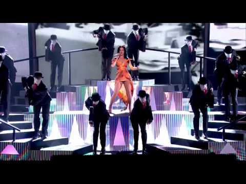 Katy Perry - Roar Performance The X Factor UK   20-10-13