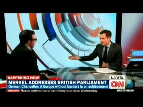 Germany's Angela Merkel urges 'strong' UK in EU, Stephen Booth on CNN