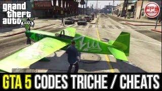GTA 5 // Tous Les CODES TRICHE / CHEATS PS3 & XBOX 360
