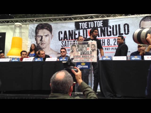 Perro Angulo on fighting canelo alvarez  EsNews Boxing