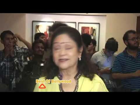 Aruna Irani at the success of