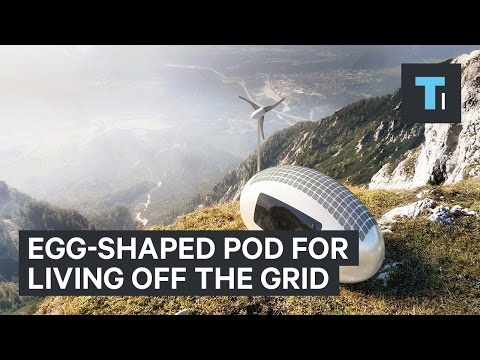 Off The Grid Eco Pod Home