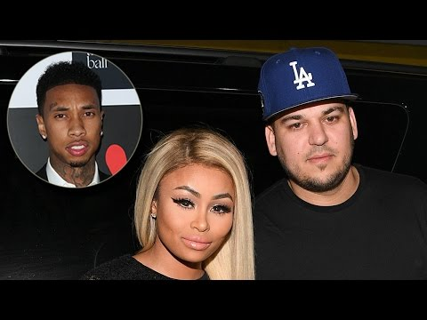 Tyga's Surprising Reaction To Blac Chyna & Rob Kardashian's Engagement