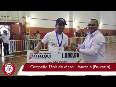 I Campeonato de Futsal Químicos do ABC 2014 Premiação