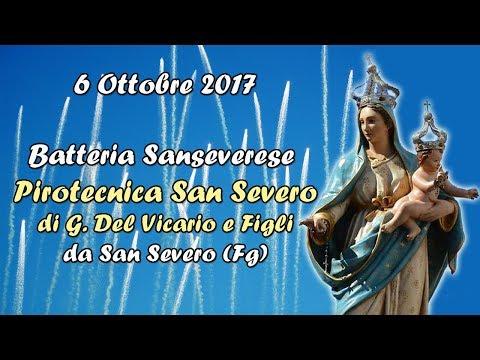 VIGNACASTRISI (Le) - Maria Ss del Rosario 2017 - Pirotecnica SAN SEVERO (Batteria)