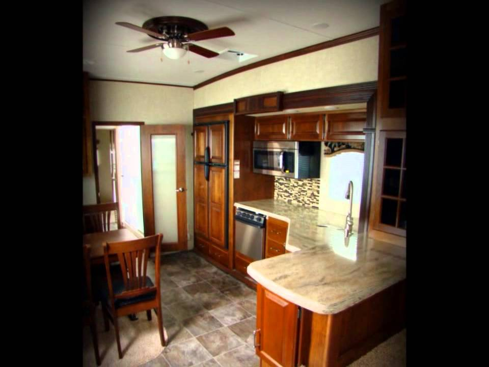 2013 Alpine 3495FL Front Living Room Keystone RV Fifth Wheel For Sale .