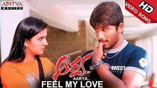 Allu Arjun Aarya Video Songs Feel My Love Song