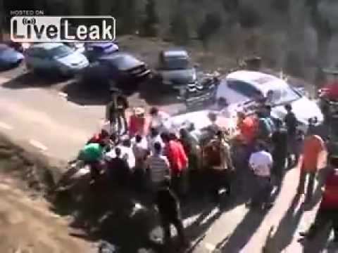 rally accidente