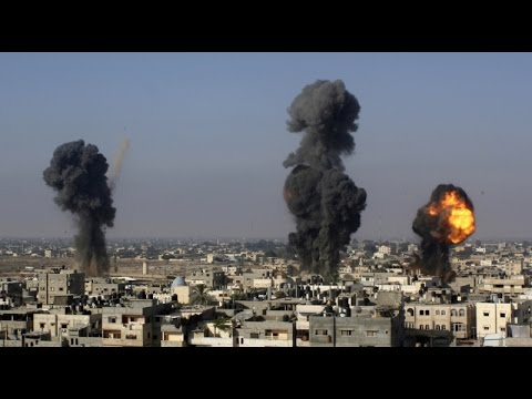 Israel Bombing Gaza July 9, 2014
