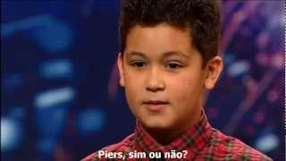 Shaheen Jafargholi (HQ) Britain's Got Talent 2009(Completo Legendado BR)