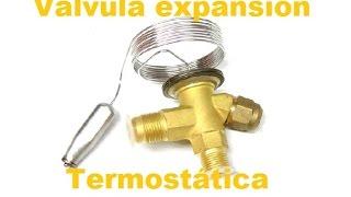 Como regular válvula expansión
